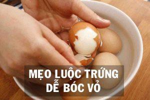Mẹo luộc trứng dễ bóc vỏ - anh 1.