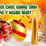 Loi Chuc Giang Sinh Y Nghia 2020